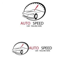 Auto Speed Logo vector