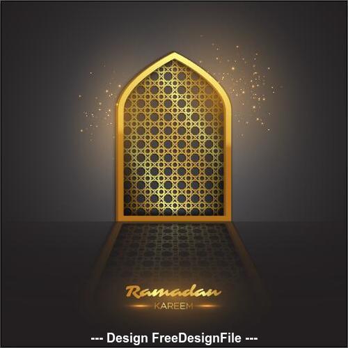 Beautiful muslim illustrations vector