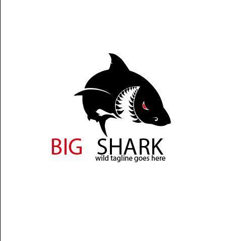 Big Shark Logo vector