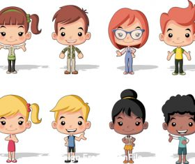 Children small body vector
