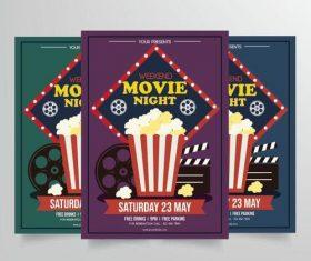 Cinema poster vector