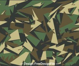 Dark green camouflage background vector