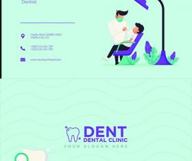 Dent Bussines Card PSD Template