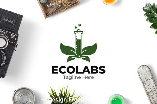 Eco lab logo vector