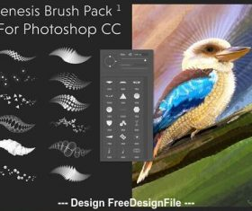 Genesis Photoshop Brushes