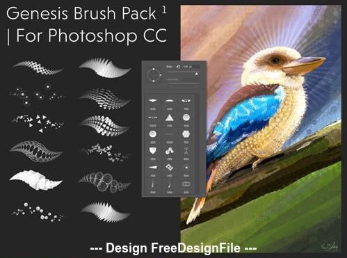 Genesis Photoshop Brushes