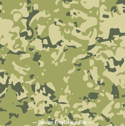 Green camouflage background vector