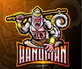 Hanuman logo vector