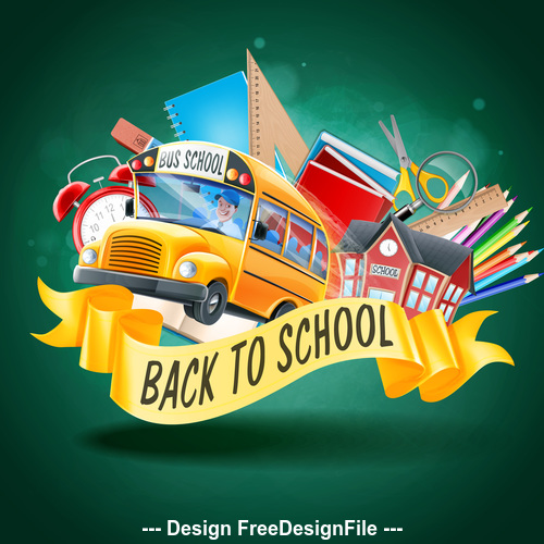 Illustration back to school vector