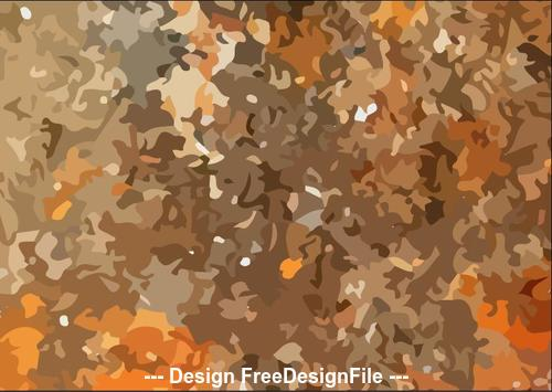 Jungle camouflage pattern vector