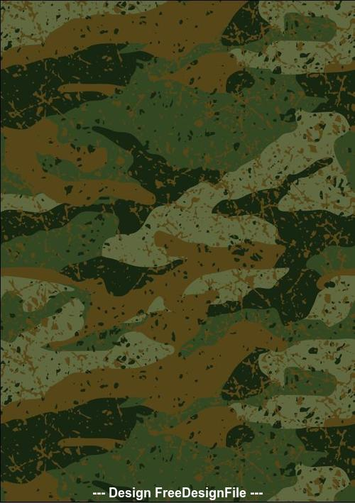 Khaki jungle mud camouflage repeat pattern vector