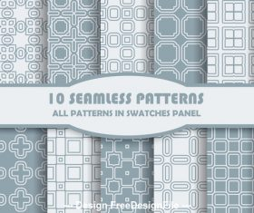Light square seamless pattern vector