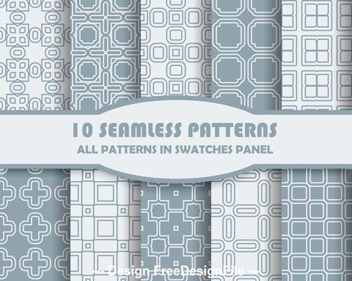Light square seamless pattern vector