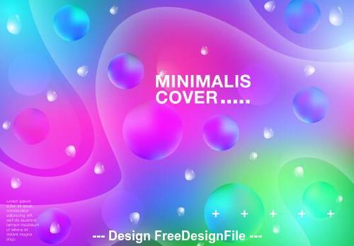 Minimalis cover vector