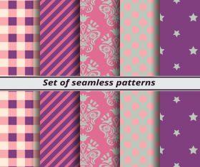 Purple background seamless pattern vector