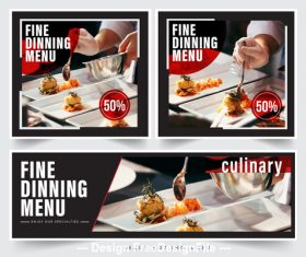 Restaurant food picture vector