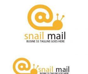 Snail Mail Logo vector