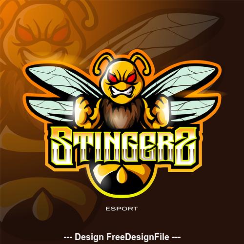 Stingers logo vector
