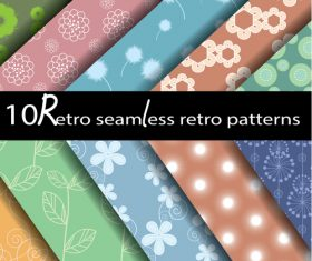 Three kind seamless pattern vector