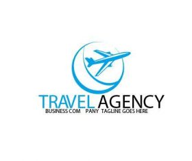 Travel Agency Logo vector
