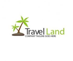 Travel Land Logo vector