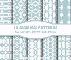 Various rhombus seamless patterns vector