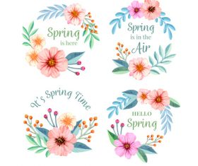 lts spring time vector