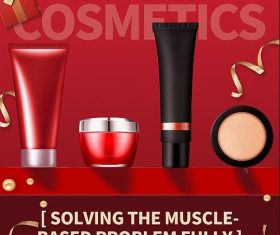 Beauty Makeup Sale Flyer PSD Template