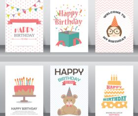 Celebration greeting card vector