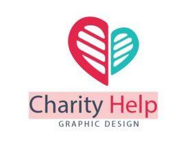 Charity Help logo vector