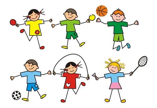 Children group vector