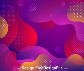 Colored abstract geometric background vector