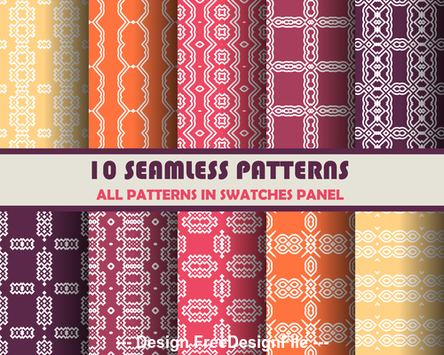 Colorful background seamless pattern vector