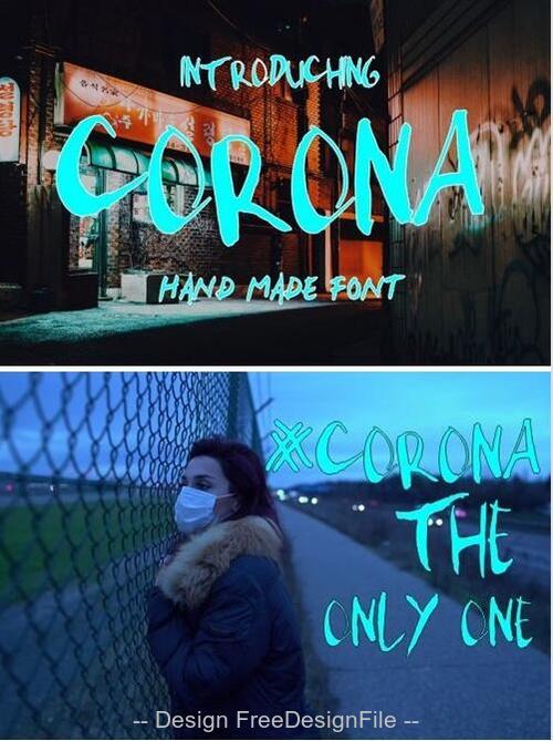 Corona Fonts