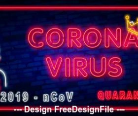 Corona virus detection vector
