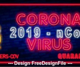 Corona virus health tips vector