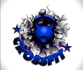 Crossfit logo vector
