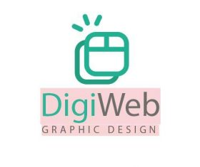 Digi web logo vector