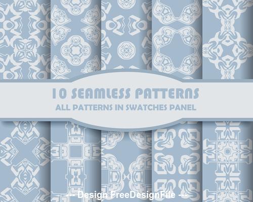 Elegant seamless rhombus pattern vector