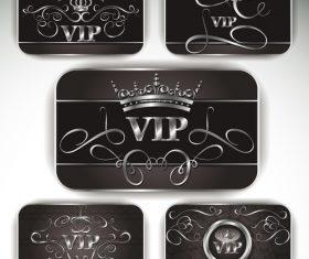 Elegant vector VIP platinum card