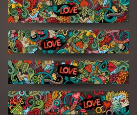 Graffiti background banner vector