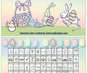 Happy Easter Fonts