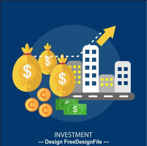 Investment elements vector