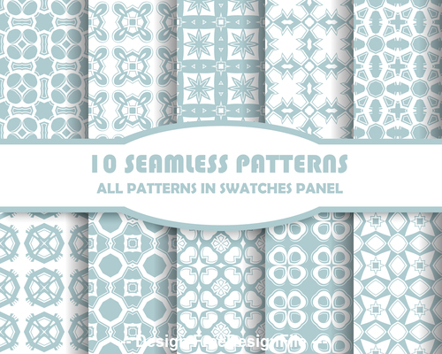 Light color combination seamless pattern vector