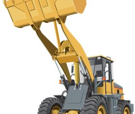 Loader cartoon vector