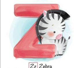 Look at the picture literacy Z letter vector