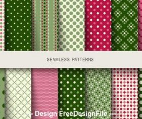 Multi color background polka dot seamless pattern vector