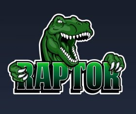 Raptor logo vector