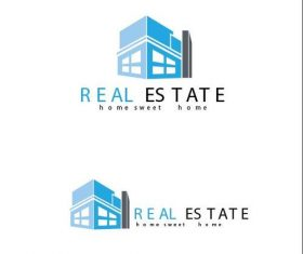 Real estate transaction logo vector