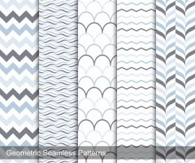 Ripple seamless background pattern vector